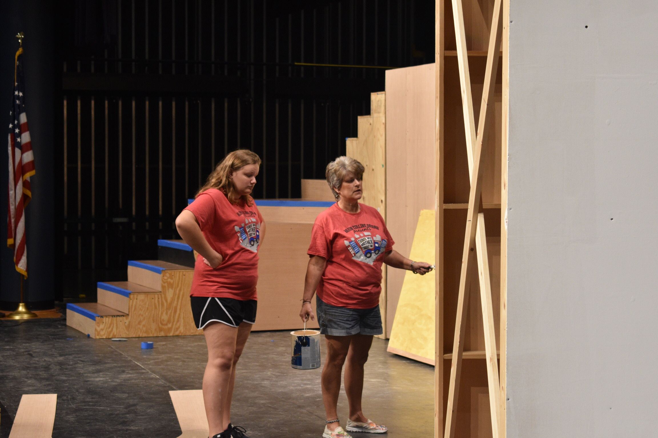 Scenic Design Crew Head Mackenzie Adams