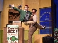 Nidal Wadi and Hayden Cox in Little Shop Of Horrors