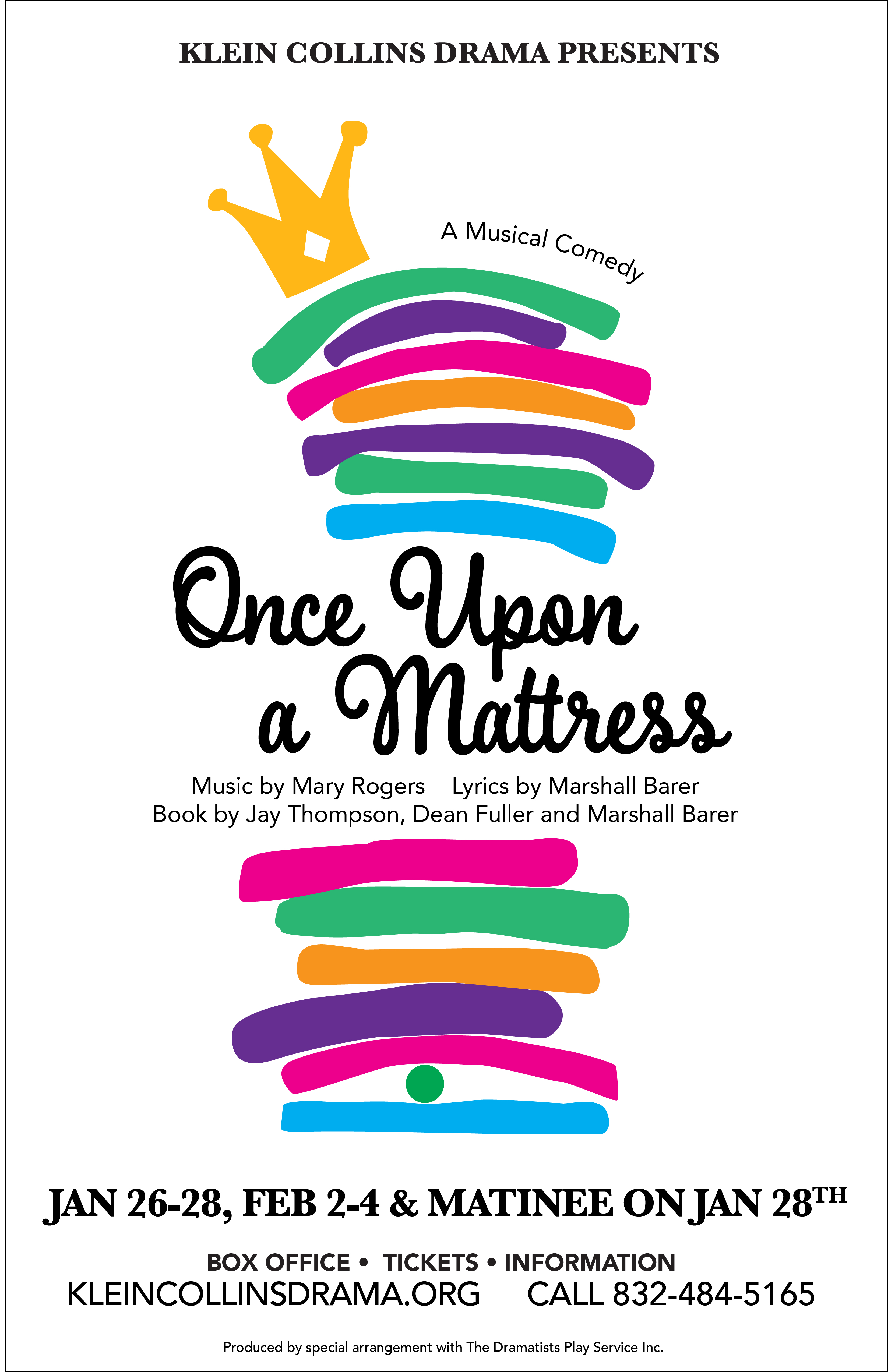 once upon a mattress poster. Once-upon-a-mattress-poster-01 Once Upon A Mattress Poster R